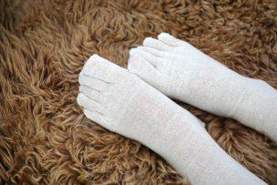 温活・妊活・冷え性解消サイトポカナビの素材「つま先冷え」