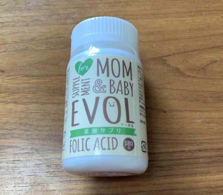 EVOL(イボール)の葉酸サプリ